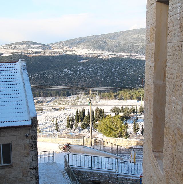 Two Snow Days In Israel!