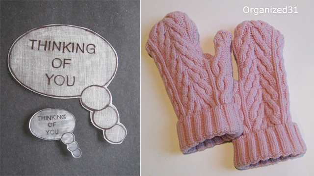 Sweater made into mittens,diy shrinky dinks