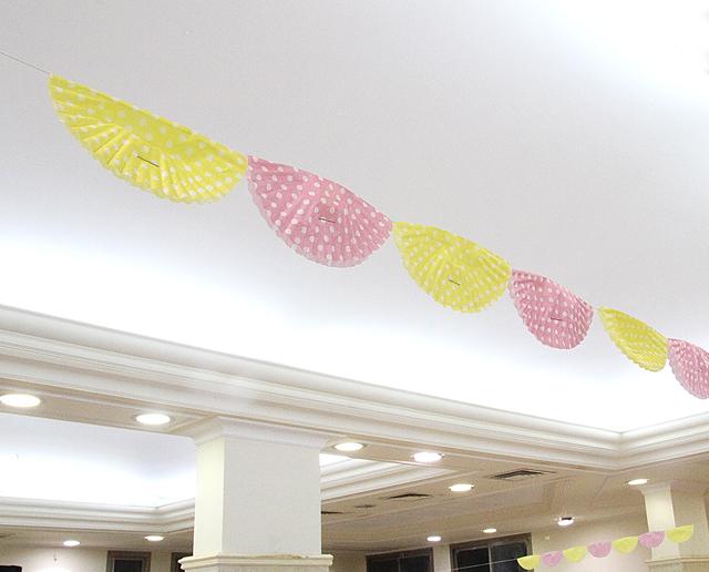 Cupcake Liner Bunting Banner