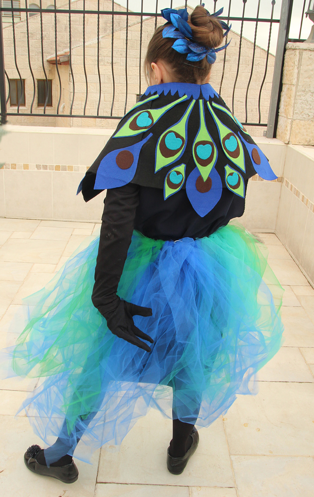 Peacock Costume With No Sew Tu Tu