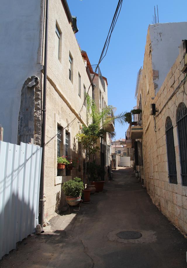 Jerusalem Nachlaot Alley