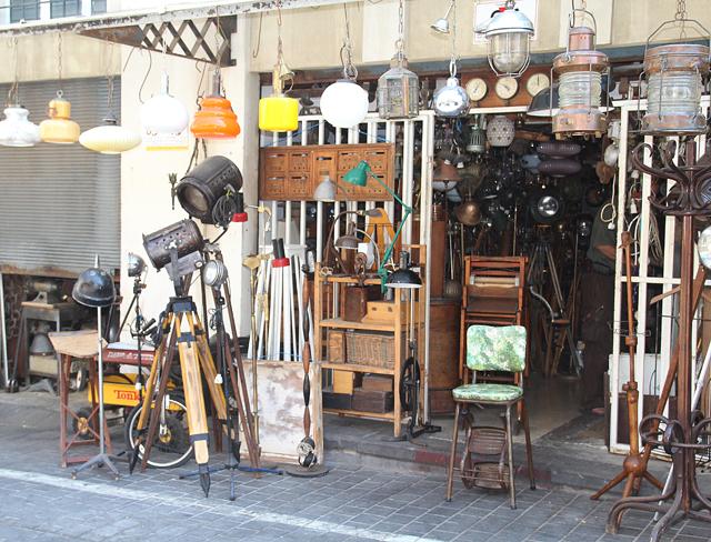 Yaffo Flea market industrial
