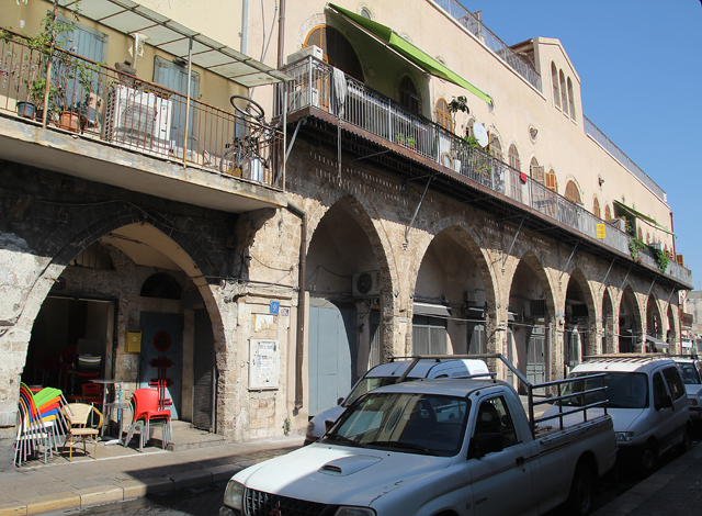 Yaffo Flea Market Neighborhood
