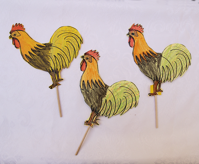 Yom Kippur Chicken Craft