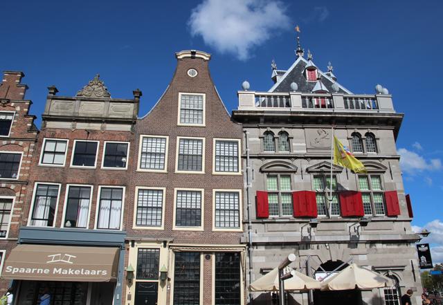 Haarlem netherlands Dutch roof silhouettes