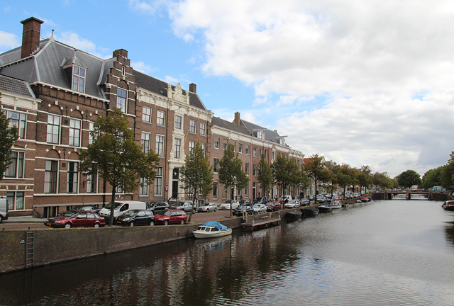Haarlem The Netherlands,Canal