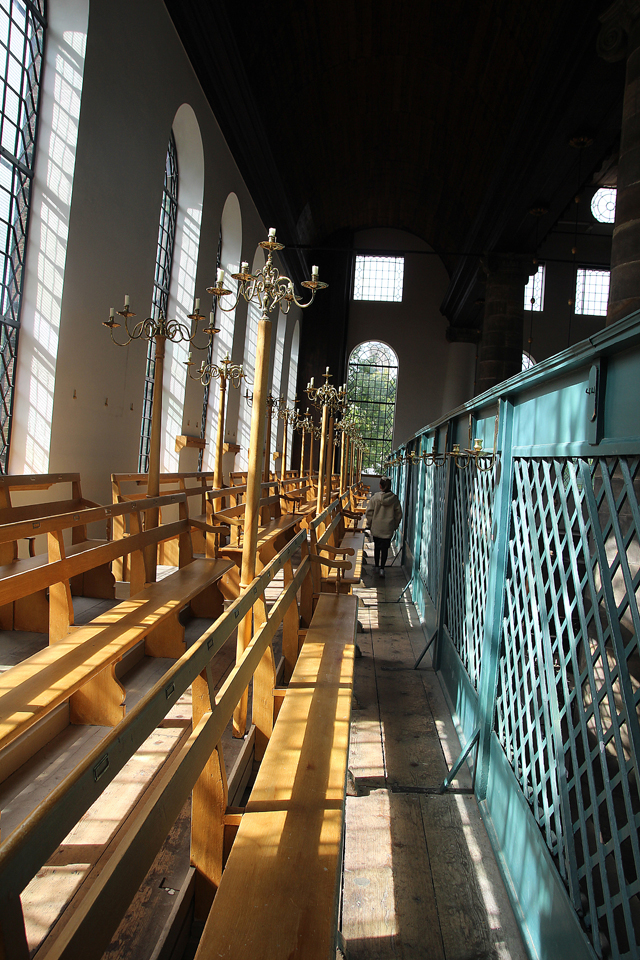 Portuguese Synagogue Amsterdam women's balcony2