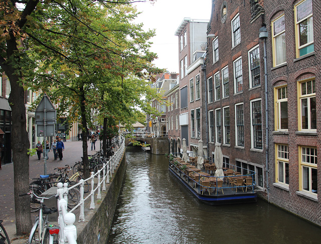 Delft Old city canal