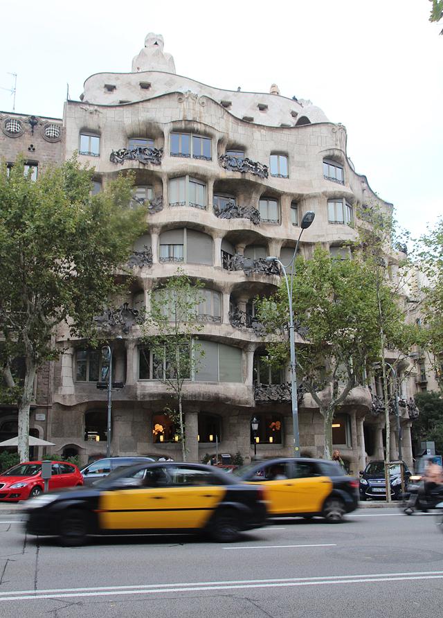 Barcelona Passeig de gracia casa mila