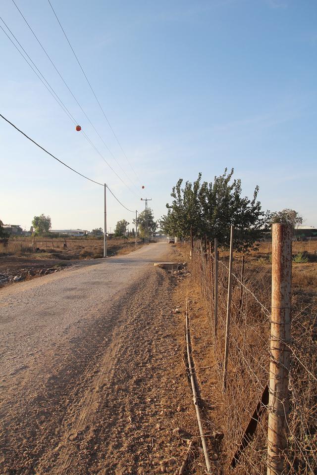 Israel, Galil, dustry farm road 2