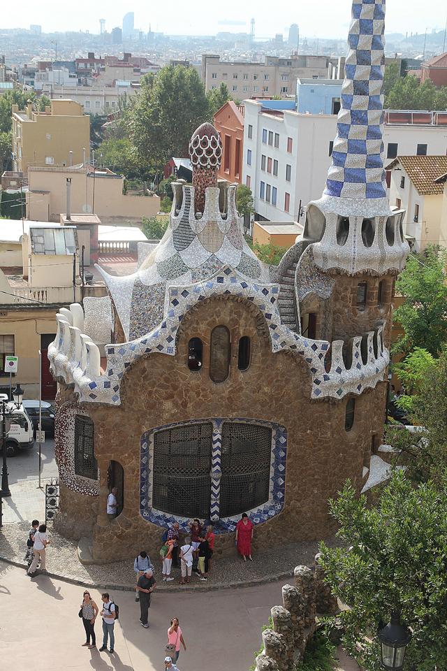 Barcelona Park Guell Gatehouse 2