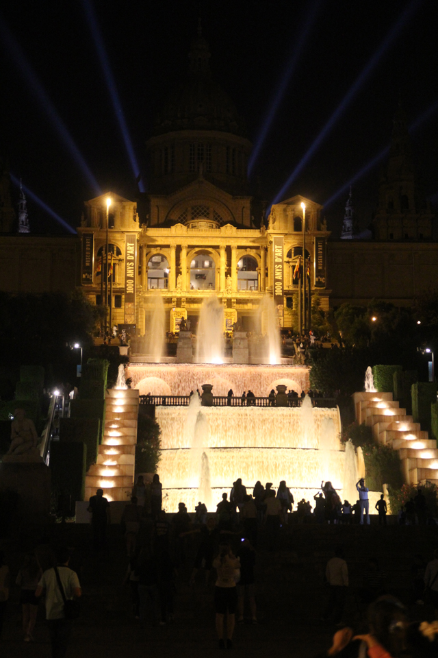 Barcelona, Magic Fountain Mont Juic