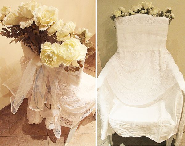 A Simple Yet Beautiful Bridal Chair In Ten Minutes Or