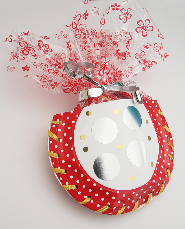 Gift Package Using Paper Plates