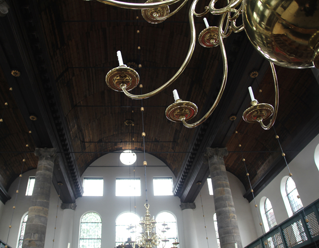 Portuguese Synagogue Amsterdam Ceiling