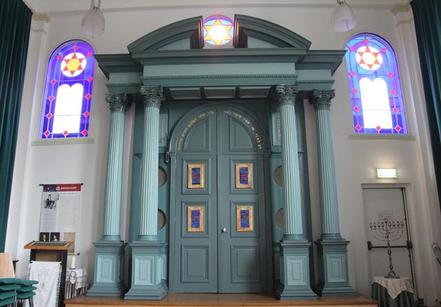 Delft Synagogue Interior