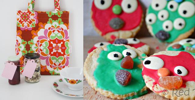 Breakfast-bag, monster cookies kid's baking