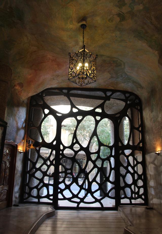 Casa Mila Entrance Door