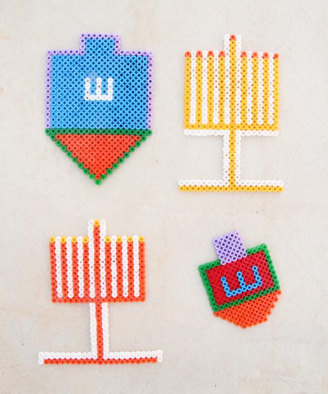 Hanukkah Hama beads