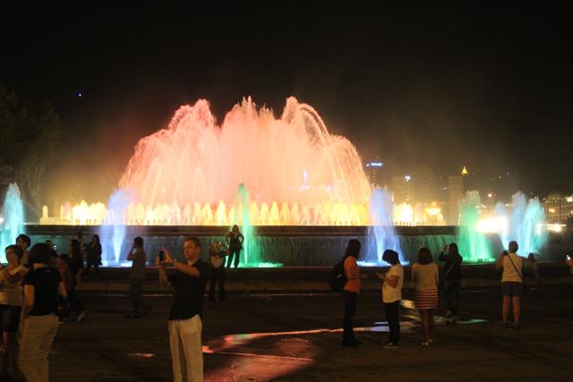 Barcelona Magic fountain 5