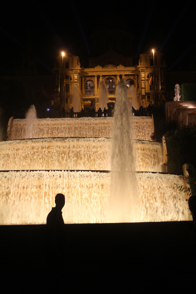 Barcelona Magic fountains Mont Juic 2
