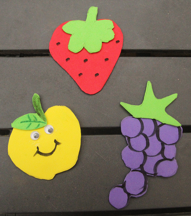 Craft Ideas For Little Kids Part - 17: Craft Foam Magnet Craft