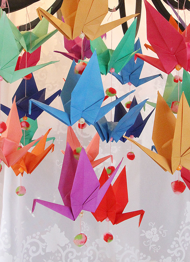 Origami Crane Decorations