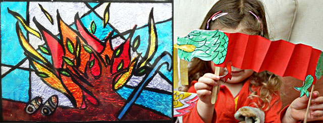Chinese new yearsdragon craft,stained glass kid's craft