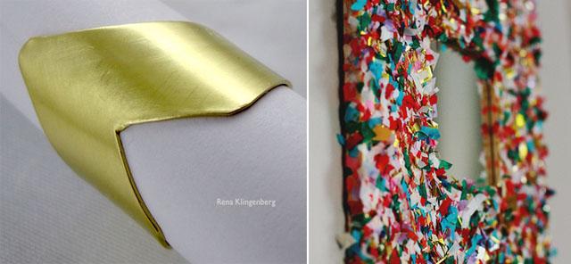 Chevron ring DIY confetti-mirror-gold-640