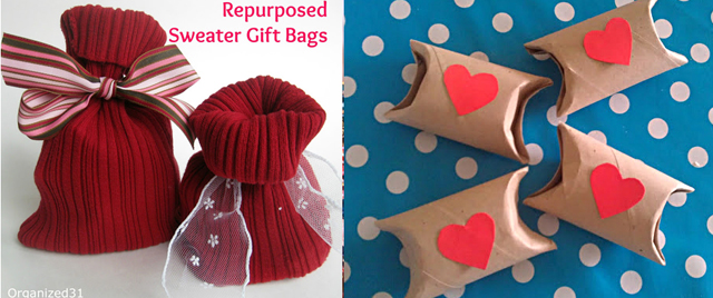 Sweater sleeve gift bags,tp tube favor packages