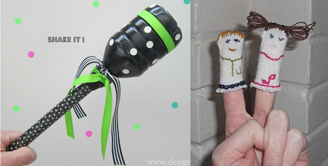Purim grogger,purim finger puppets