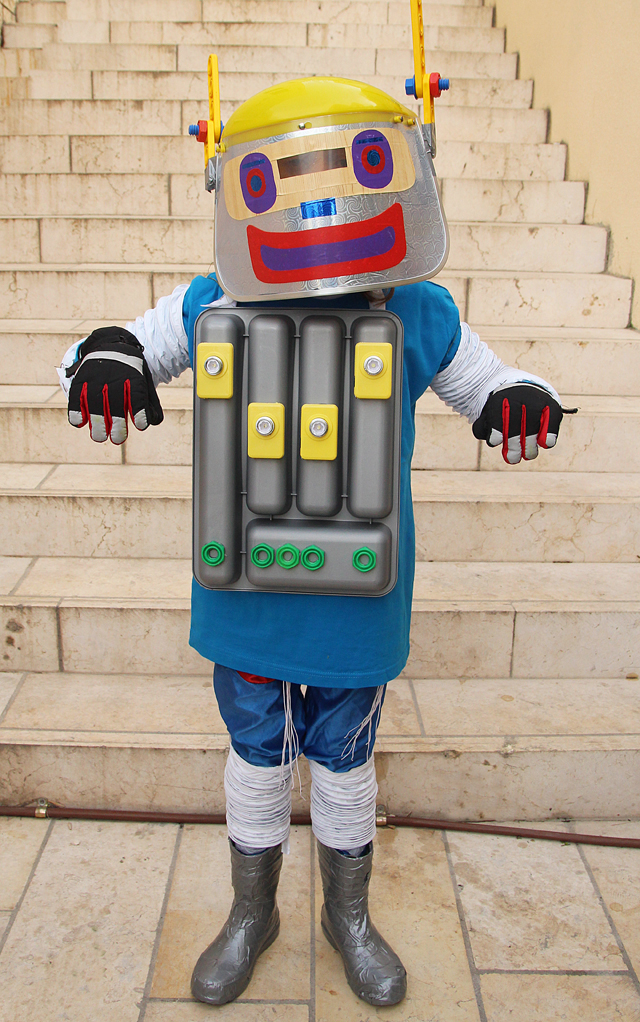 Robot Costume Boys