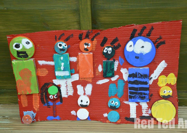 Karel-Appel-Art-collage art with-Kids1