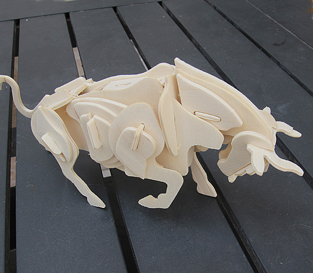 Model Building With Kids,layered bull