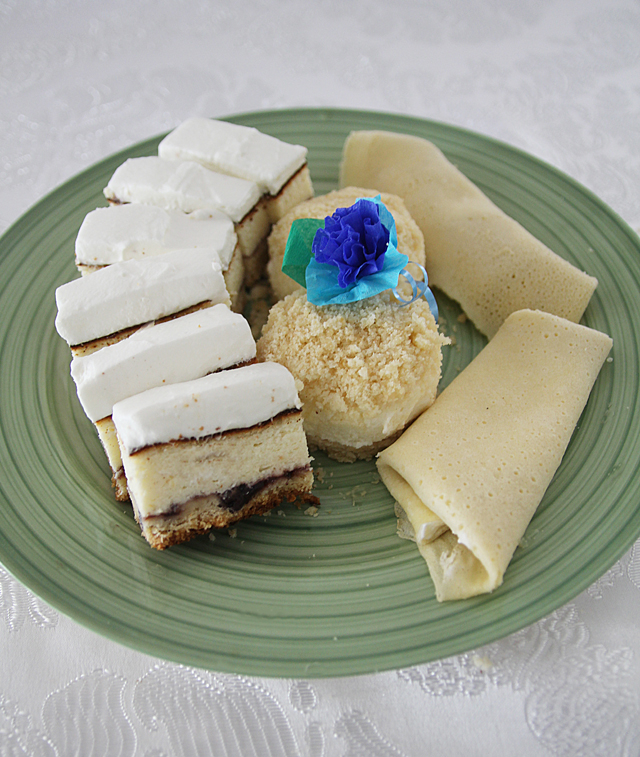 Cheese Cake Plate For Shavuos