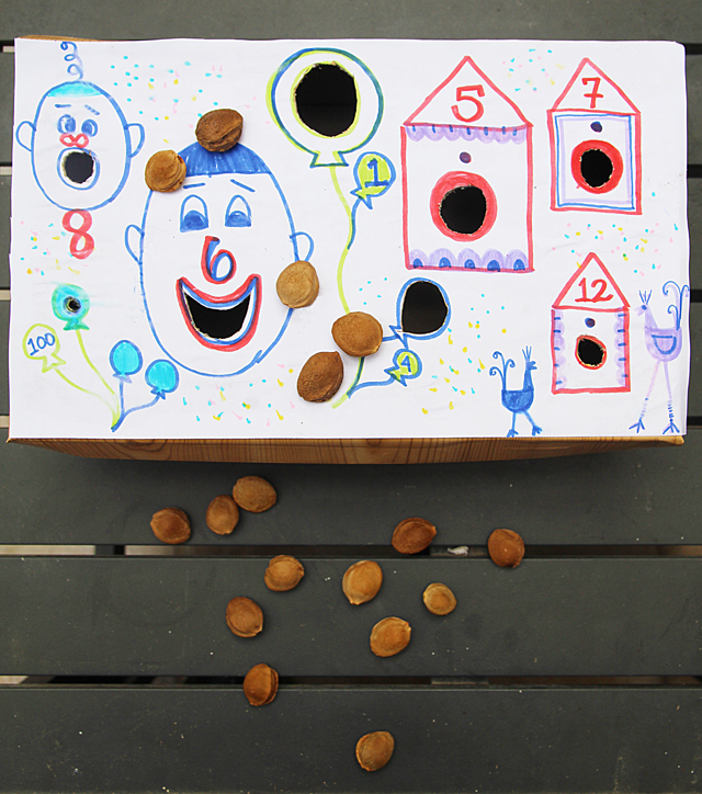 Shoebox Carnival Toss Craft