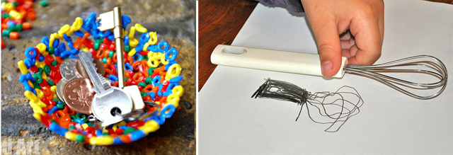 Hama bead bowls, drawing schedule