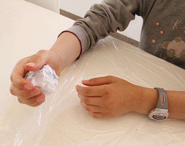 Parchment Paper Step 1