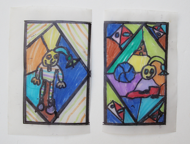 Drawing Exercise- Stained Glass