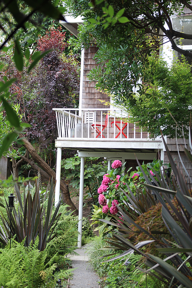 Filbert Street Steps Home With Porch