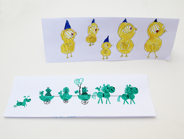 Birthday Cards With Kid's Illustrations