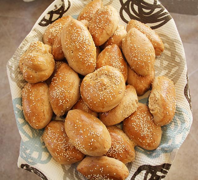 Spelt Oatmeal sandwich rolls