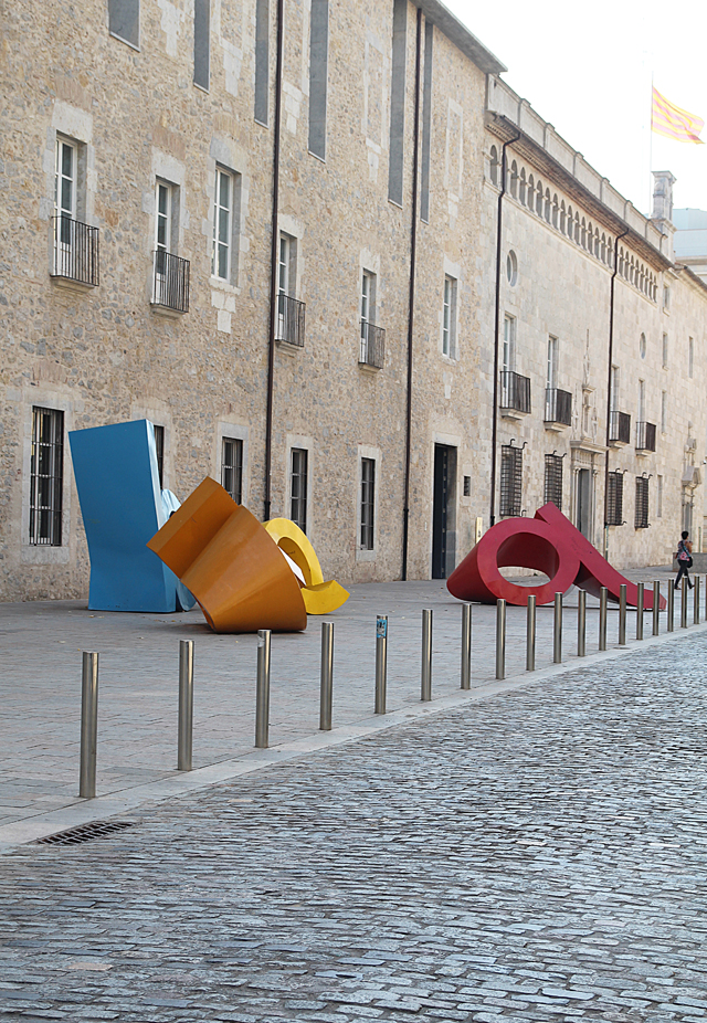 Girona abc sculpture new