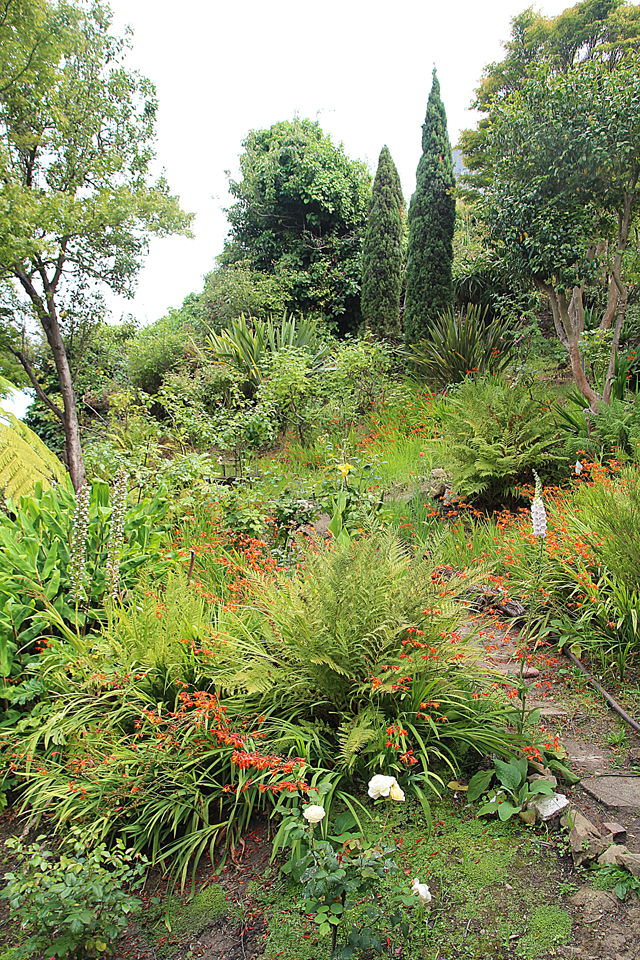 Filbert Steps Gardens