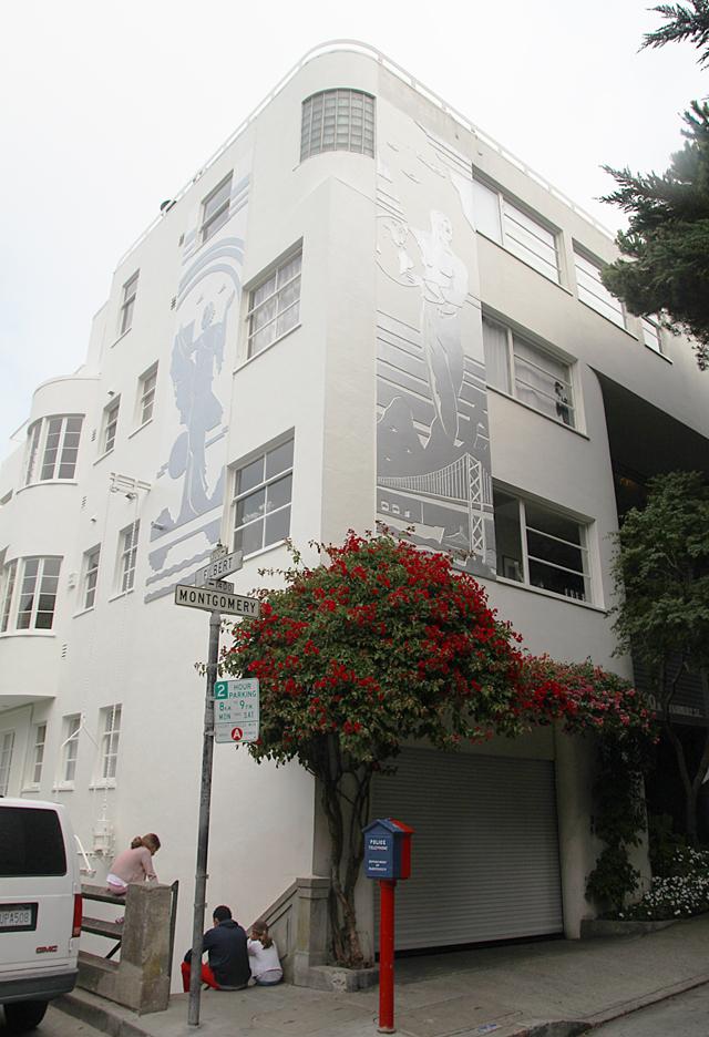 Filbert Steps At Montgomery Street