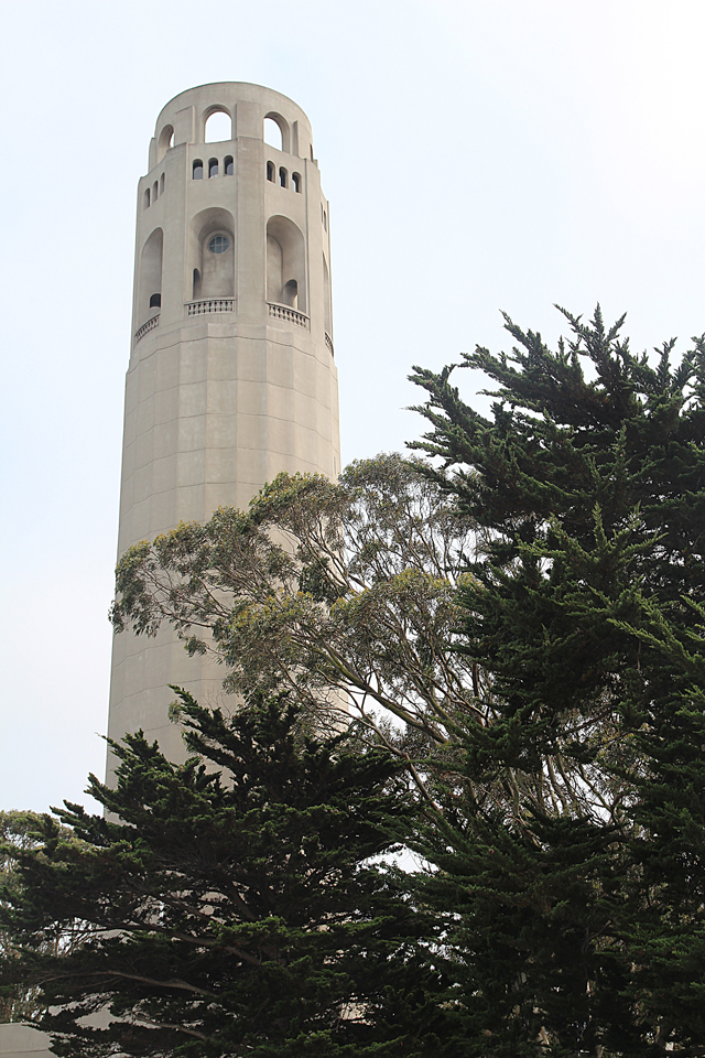 Filbert Steps, Coit Tower