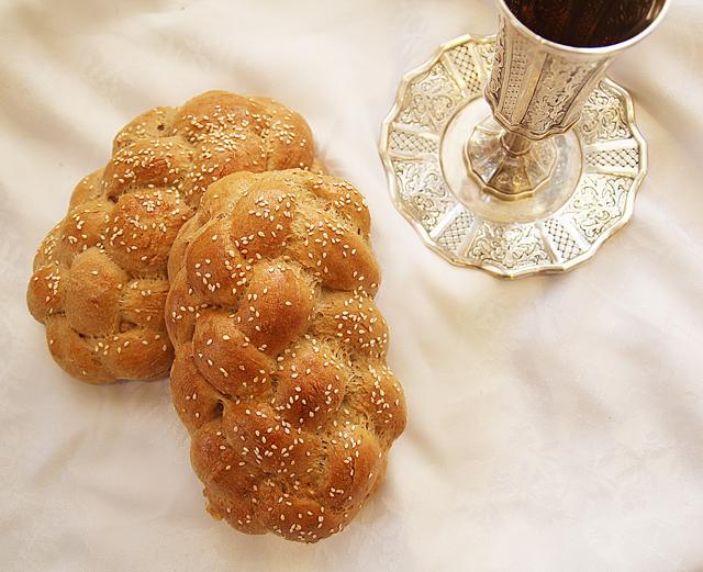 Spelt Oatmeal Challah