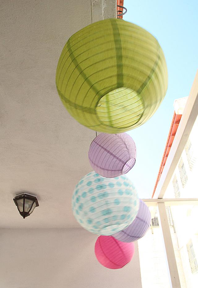 Paper Ball Lanterns
