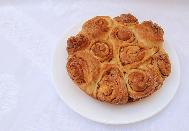 Baking With Kids- Cinnamon Rolls
