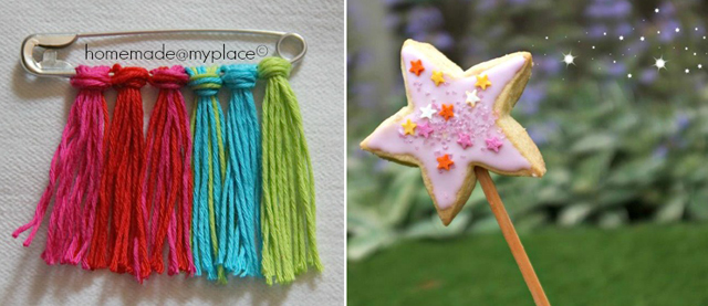 Cookie On A Stick Wand, Tassel Pin